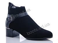 """Ботинки  женские """"Gallop Lin"""" #GL230. р-р 36-41. Цвет черный. Оптом"""