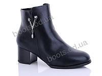 """Ботинки  женские """"Gallop Lin"""" #LX019. р-р 36-41. Цвет черный. Оптом"""