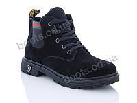 """Ботинки  женские """"Gallop Lin"""" #B90. р-р 36-41. Цвет черный. Оптом"""