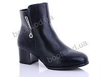 """Ботинки  женские """"Gallop Lin"""" #LX008. р-р 36-41. Цвет черный. Оптом"""