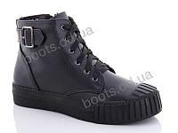 """Ботинки  женские """"Gollmony"""" #G131-6. р-р 36-41. Цвет черный. Оптом"""