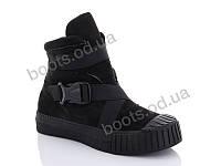 """Ботинки  женские """"Gollmony"""" #G133-6. р-р 36-41. Цвет черный. Оптом"""