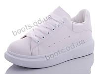 """Кроссовки  женские """"Hongquan"""" #J80-2. р-р 36-40. Цвет белый. Оптом"""