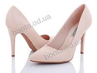 """Туфли женские  женские """"Loretta"""" #A19-11. р-р 36-40. Цвет розовый. Оптом"""