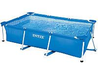 INTEX 28271 Каркасный садовый бассейн 260x160x65 см