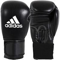 """Боксерские перчатки Adidas """"Performer"""": 12, 14 унций, кожаные тренировочные перчатки для бокса и единоборств"""