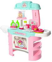 """Кухня детская """"Baby"""" с аксессуарами для пупса-малыша, 68*30*68 см, 008-910"""