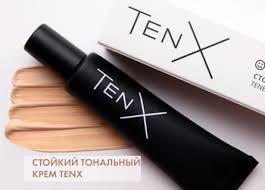 Стойкий тональный крем TenX для всех типов кожи тон нюд 30мл