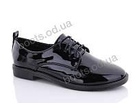 """Туфли женские  женские """"STILLI Group-Vintage"""" #S520-7. р-р 36-40. Цвет черный. Оптом"""