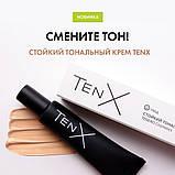 Стойкий тональный крем TenX для всех типов кожи тон нюд 30мл, фото 3