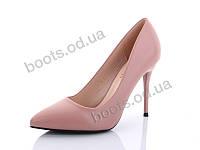 """Туфли женские  женские """"STILLI Group-Vintage"""" #XX121-5. р-р 36-40. Цвет розовый. Оптом"""