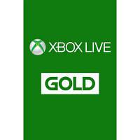 Карта онлайн пополнения Xbox Xbox Live GOLD подписка на 3 месяца RU ESD (10386792)