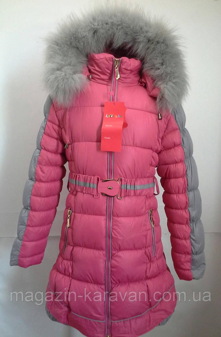 Зимняя куртка для девочки. 06