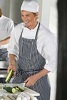 Фартук мужской для повара, мясника TEXSTYLE крупная полоска