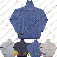 Вязаный свитер с горлом для мальчика от 5 до 9 лет (3800)