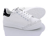 """Кроссовки  женские """"Xifa"""" #102-3 k. р-р 36-41. Цвет белый. Оптом"""