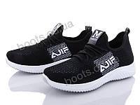 """Кроссовки  женские """"Xifa"""" #AGE1-1. р-р 36-41. Цвет черный. Оптом"""