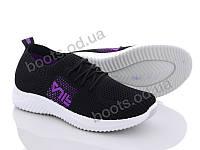 """Кроссовки  женские """"Xifa"""" #AGE3-3. р-р 36-41. Цвет черный. Оптом"""