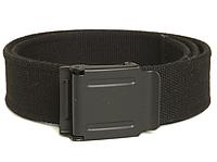 Брезентовий брючний ремінь мілітарі 40 мм Mil-tec чорний