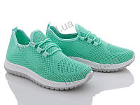 """Кроссовки  женские """"Xifa"""" #AGB2-6. р-р 36-41. Цвет зеленый. Оптом"""