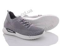 """Кроссовки  женские """"Xifa"""" #AGD2-2. р-р 36-41. Цвет серый. Оптом"""