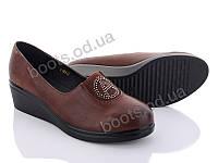 """Туфли женские  женские """"Xifa"""" #Y189-2. р-р 36-41. Цвет черный. Оптом"""