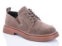"""Туфли женские  женские """"Jin Lan"""" #B55-89. р-р 36-41. Цвет коричневый. Оптом"""