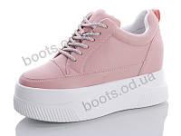 """Кроссовки  женские """"Jin Lan"""" #55-122. р-р 36-40. Цвет розовый. Оптом"""