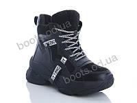 """Ботинки  женские """"Jin Lan"""" #A77-32. р-р 36-40. Цвет черный. Оптом"""