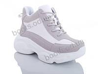"""Ботинки  женские """"Jin Lan"""" #A70-2. р-р 36-40. Цвет белый. Оптом"""