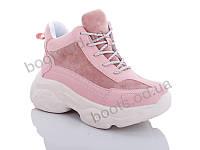 """Ботинки  женские """"Jin Lan"""" #A70-5. р-р 36-40. Цвет розовый. Оптом"""