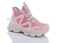 """Ботинки  женские """"Jin Lan"""" #A71-21. р-р 36-40. Цвет розовый. Оптом"""