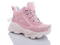 """Ботинки  женские """"Jin Lan"""" #A70-27. р-р 36-40. Цвет розовый. Оптом"""