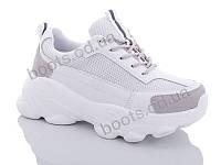 """Кроссовки  женские """"Jin Lan"""" #A103-1A. р-р 36-40. Цвет белый. Оптом"""
