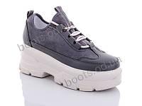 """Кроссовки  женские """"Jin Lan"""" #B51-9. р-р 36-40. Цвет серый. Оптом"""