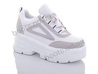 """Кроссовки  женские """"Jin Lan"""" #B51-13. р-р 36-40. Цвет белый. Оптом"""