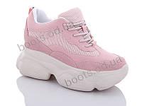 """Кроссовки  женские """"Jin Lan"""" #B56-11. р-р 36-40. Цвет розовый. Оптом"""