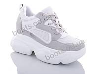 """Кроссовки  женские """"Jin Lan"""" #B56-14. р-р 36-40. Цвет белый. Оптом"""