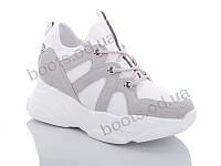 """Кроссовки  женские """"Jin Lan"""" #B52-8,205-2A. р-р 36-40. Цвет белый. Оптом"""