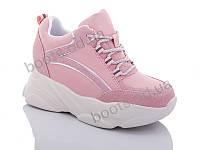"""Кроссовки  женские """"Jin Lan"""" #B52-16.205-3C. р-р 36-40. Цвет розовый. Оптом"""
