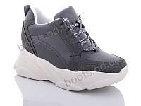 """Кроссовки  женские """"Jin Lan"""" #B52-20. р-р 36-40. Цвет серый. Оптом"""