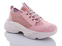 """Кроссовки  женские """"Jin Lan"""" #A102-5C. р-р 36-40. Цвет розовый. Оптом"""