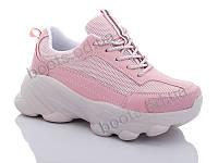"""Кроссовки  женские """"Jin Lan"""" #A103-1C. р-р 36-40. Цвет розовый. Оптом"""