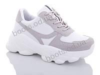 """Кроссовки  женские """"Jin Lan"""" #B53-25. р-р 36-40. Цвет белый. Оптом"""