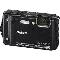Цифровой фотоаппарат Nikon Coolpix W300 Black (VQA070E1)