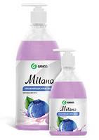 GRASS Жидкое крем мыло Milana «Черника в йогурте» с дозатором 0,5л.