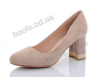 """Туфли женские  женские """"Башили"""" #P760-2. р-р 36-41. Цвет бежевый. Оптом"""