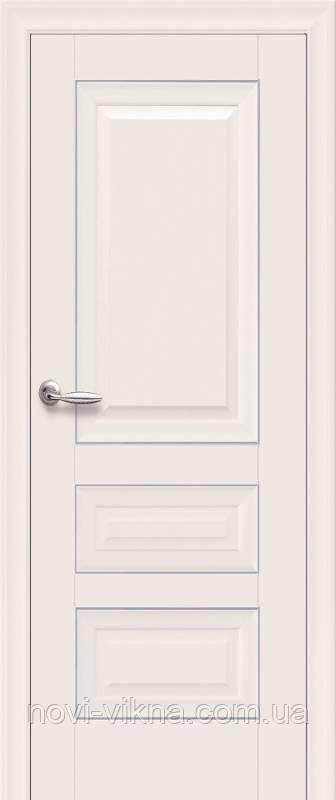 Дверь межкомнатная Статус с молдингом 700 мм, магнолия.