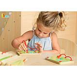 Набор для написания магнитных букв Строчные Viga Toys (50338), фото 3