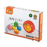 Игрушка Viga Toys Йо-йо, 12 шт. в дисплее (53769), фото 3